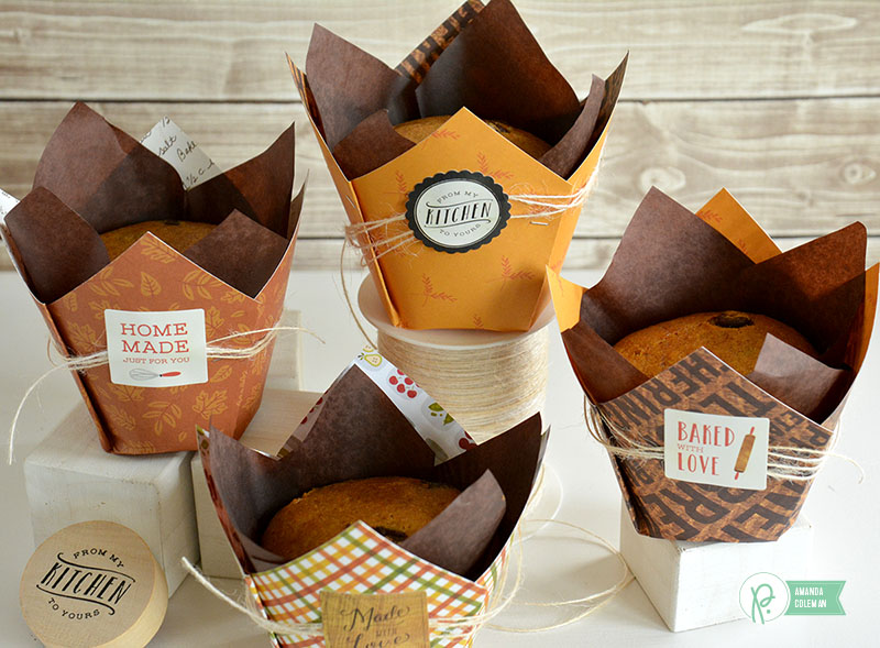 Easy Muffin Wraps by @amanda_coleman1 using @pebblesinc Harvest collection