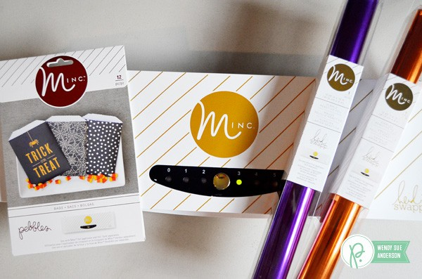 """quick and easy treat gifts by @wendysuea with the """"Boo!"""" collection by @pebblesinc"""