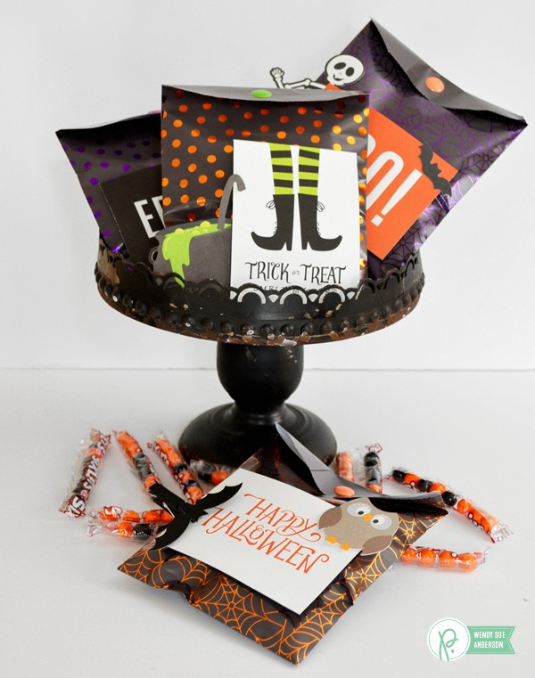 "quick and easy treat gifts by @wendysuea with the ""Boo!"" collection by @pebblesinc"