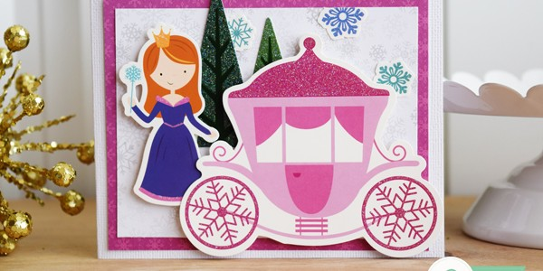 Winter Wonderland Cards for Little Girls