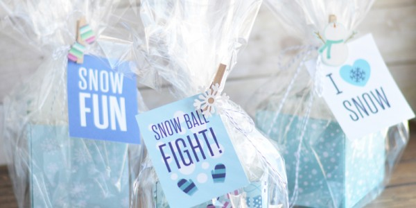 Simple Snowball Neighbor Gift