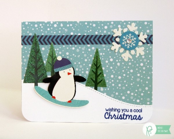 Winter Wonderland Penguin Card-Mendi
