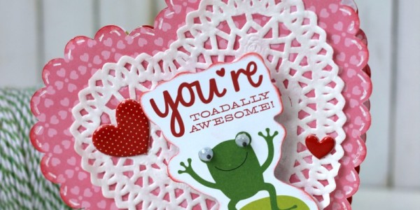 Valentine's Frog Card