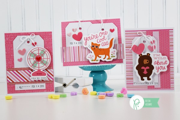 Easy Handmade Valentines by @jbckadams for @pebblesinc