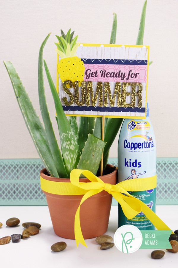 Easy Summer gift by @jbckadams for @pebblesinc