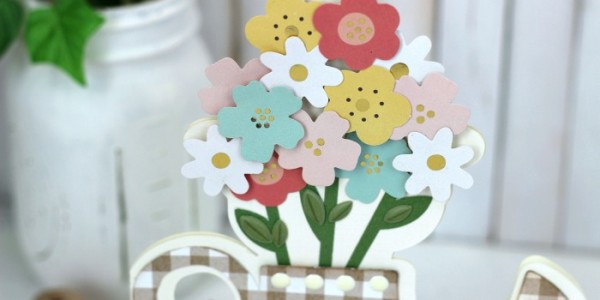 Spring Watering Can Card