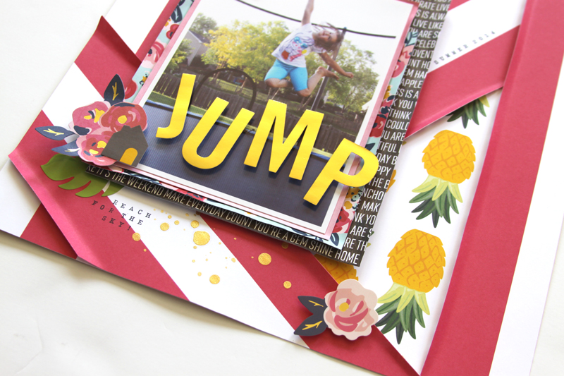 Jump layout by @reneezwirek using the #JHEveryday collection by @pebblesinc and @Tatertots and Jello .com