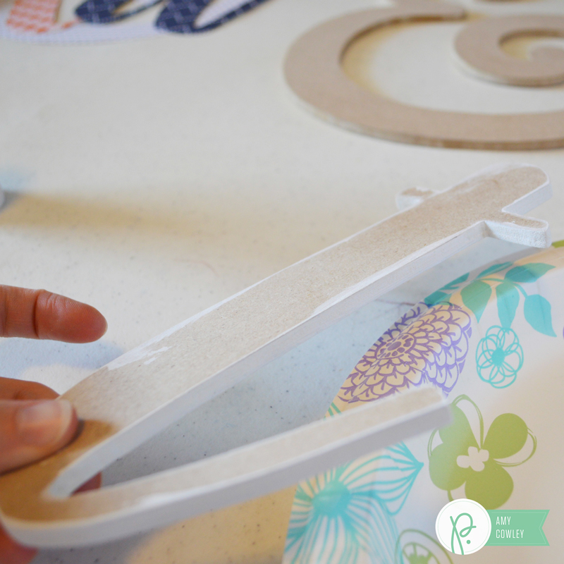 Create custom Master Bedroom decor with this tutorial from @thehappyscraps using @pebbliesinc paper from #jenhadfield.
