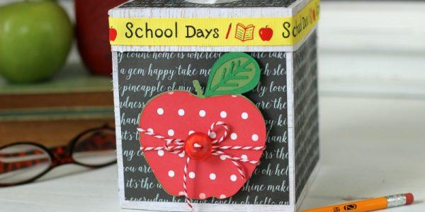 Teacher Tissue Box