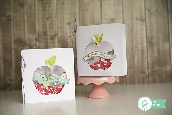Thank you Shaker Cards by @evapizarrov using #Everyday and #Springfling collections by @pebblesinc