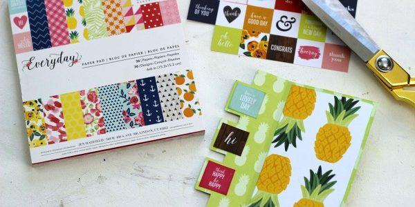 Pineapple Fun Swing Card