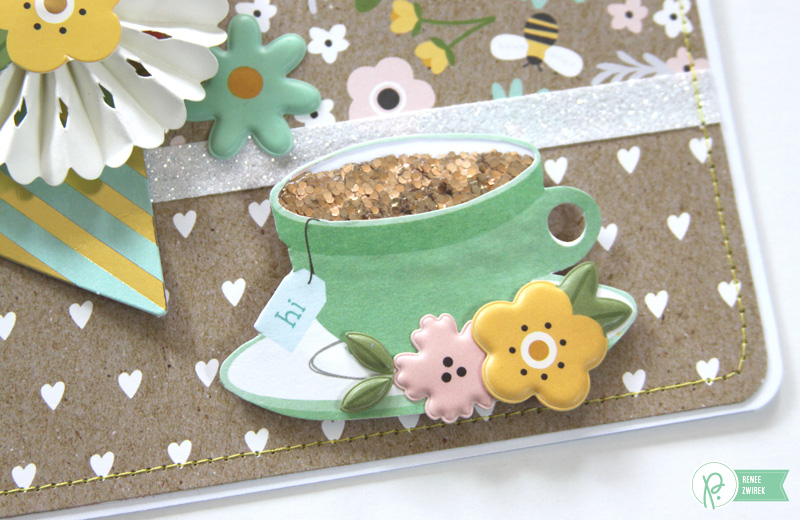 Mother's Day Card by @reneezwirek using the #SpringFling collection by @pebblesinc