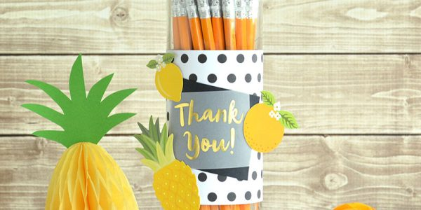 Teacher Appreciation Pencil Dispenser