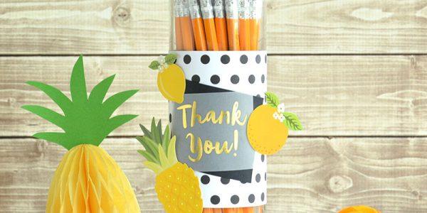 Teacher Appreciation Pencil Dispenser