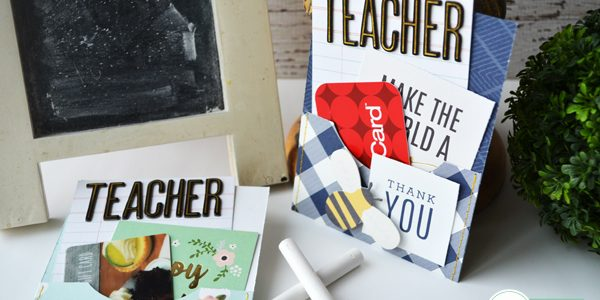 "Teacher Appreciation ""Thank You"" Pocket Cards"