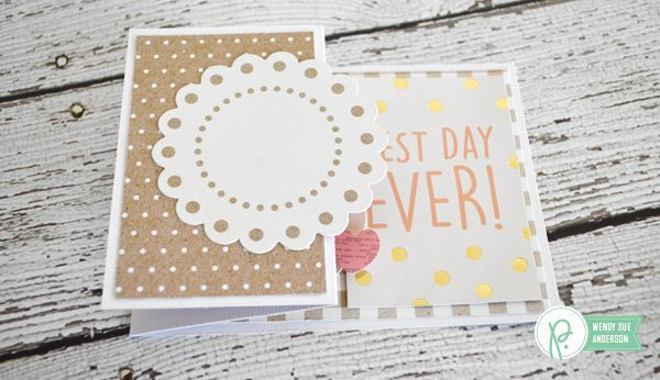 "Weekend Wedding Cards by @wendysue with the ""Spring Fling"" collection by @Pebblesinc"