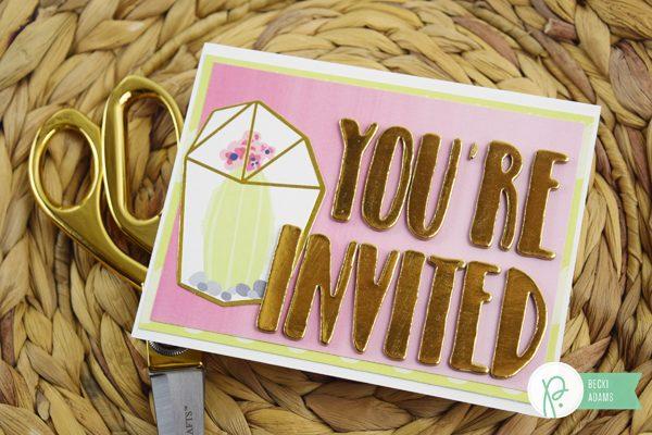 Becki Adams_Summer Party Invitation Set_2