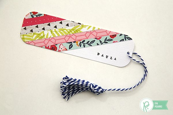 Personalized bookmarks made by @evapizarrov with #everyday line by @pebblesinc