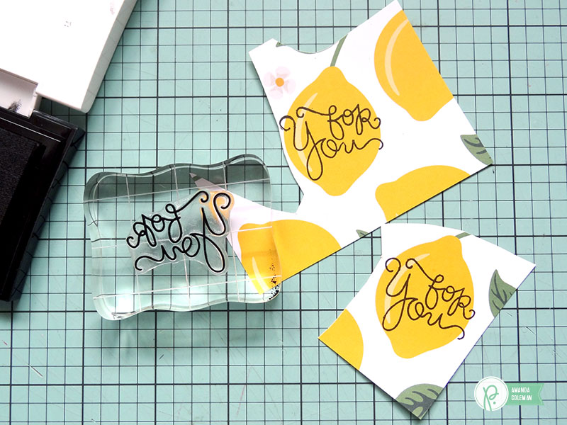 Summertime Lemonade Quick Gift by @amanda_coleman1 using @pebblesinc Everyday collection