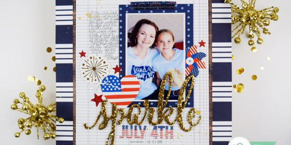 Fourth of July Layout