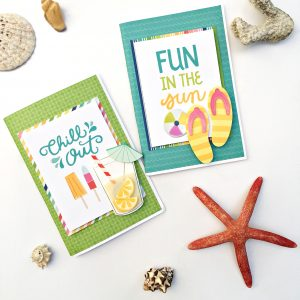 Beach Gift Bags Mini Album by Heather Leopard