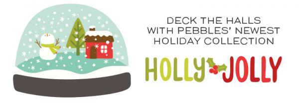 Holly Jolly Header with Logo