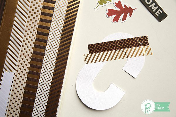 Create a personalized Gift bag in minutes with this tutorial from @evapizarrov and the lovely new line by @pebblesinc #warmandcosy