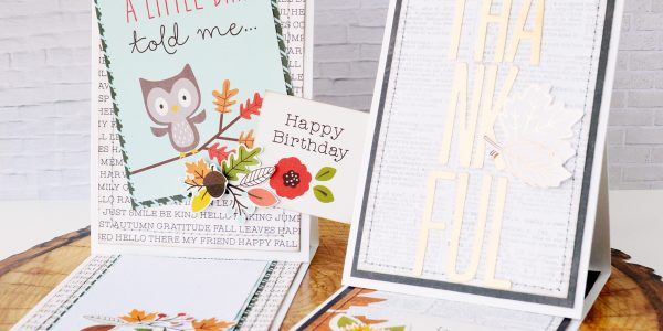 Adding Journaling spots to Cards