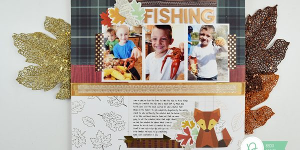 Autumn Layout Featuring the Warm & Cozy Collection