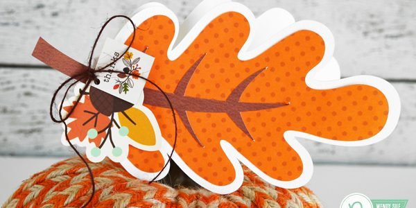 Shaped Autumn Leaves Cards