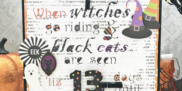DIY Halloween Countdown Home Decor