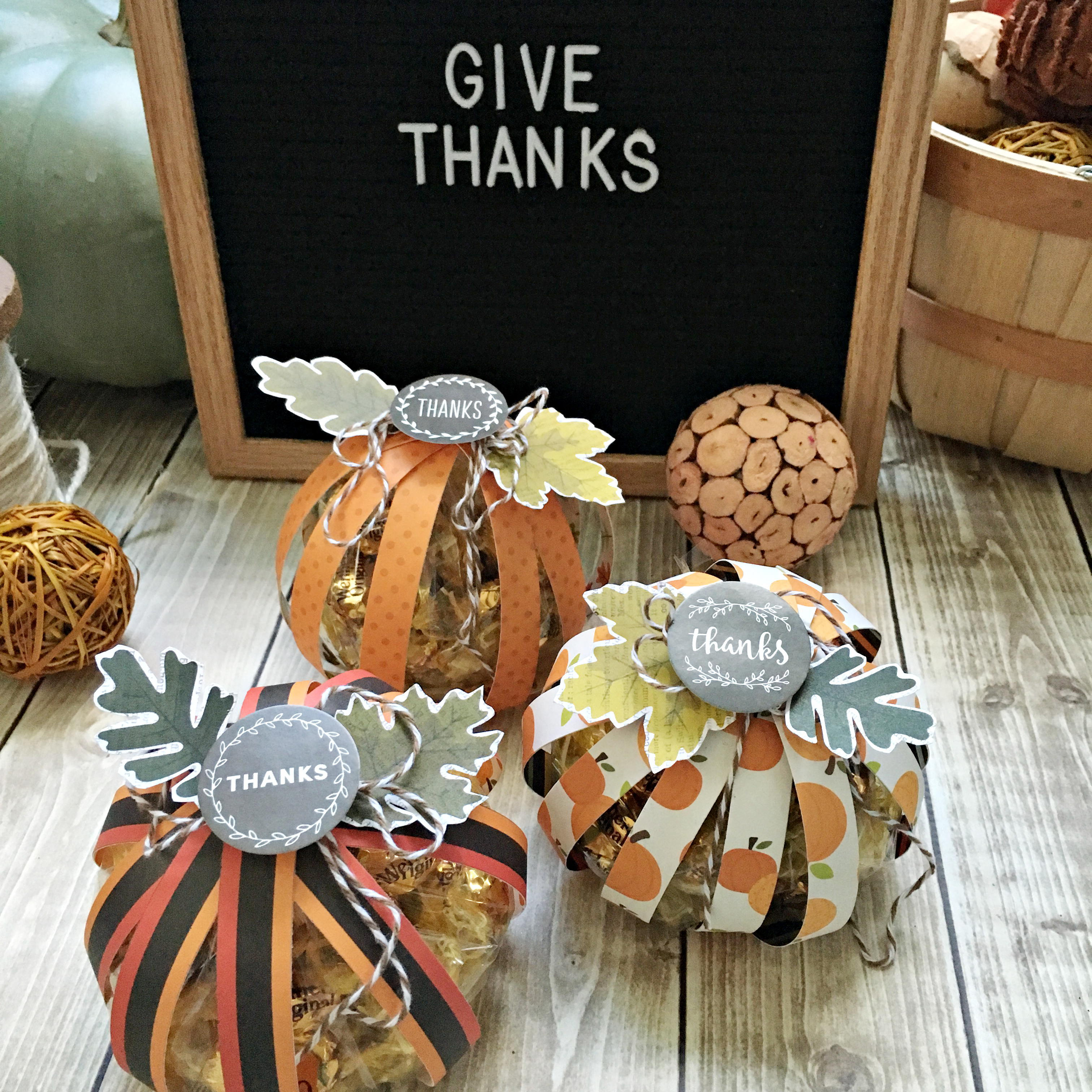 Give Thanks Pumpkin Surprise Gifts