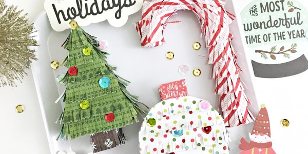 DIY Mini Christmas Pinatas