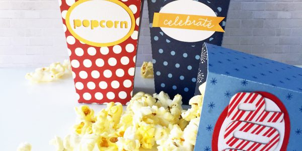 Homemade Popcorn Boxes!
