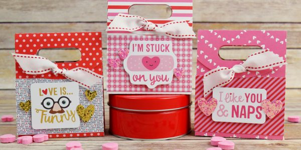 Easy Valentines Treat Bags
