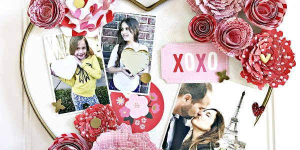 Hugs & Kisses DIY Valentine's Day Home Decor