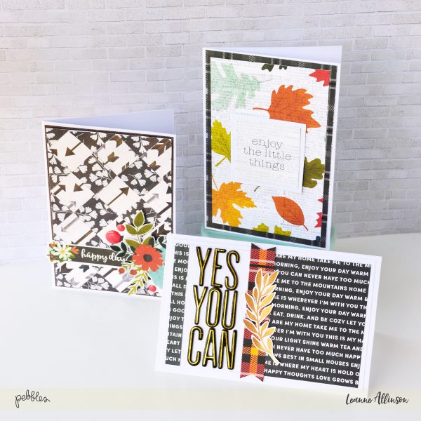 Create motivational cards with @PebblesInc and @leanne_allinson to help start the New Year!