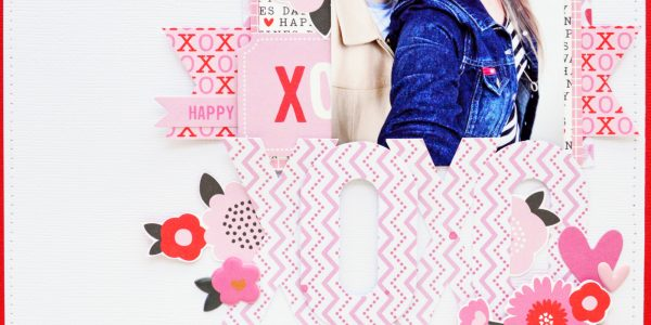 XOXO Valentine's Day Layout..