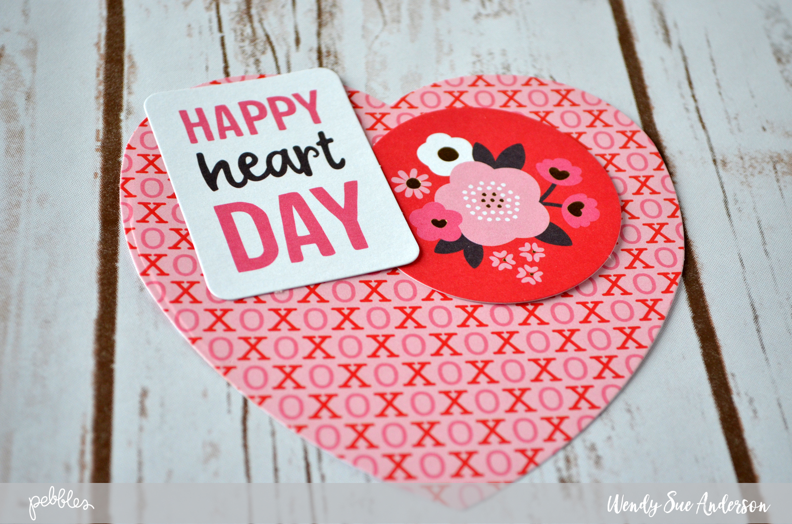 "Create these lovely ""pretend pocket"" cards with the ""My Funny Valentine"" collection by @PebblesInc and step-by-step instructions by @wendysue"