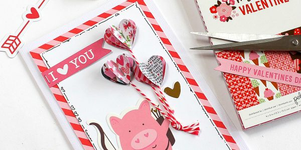 3D Hearts Cards