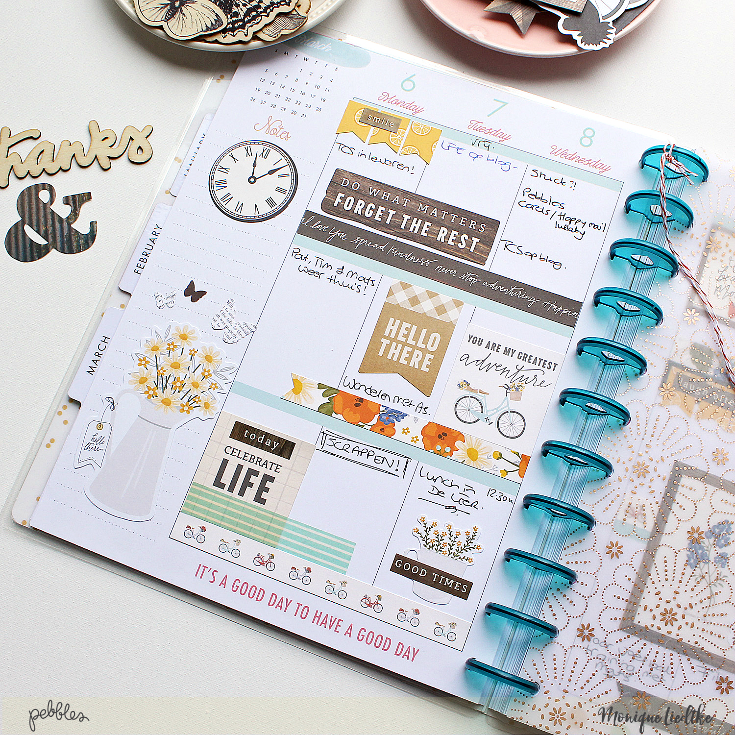 simple planner fun pebbles inc