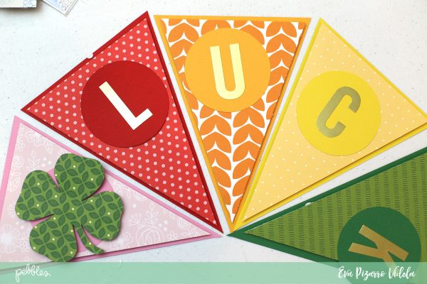 create a good luck rainbow banner with this tutorial from evapizarrov