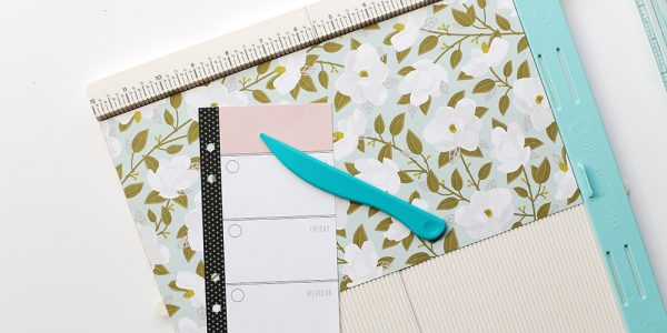DIY Planner Binder featuring Simple Life Collection