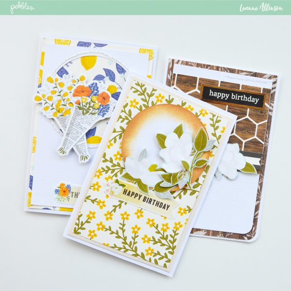 Creating cards with @PebblesInc #SimpleLifecollection. Thank you!