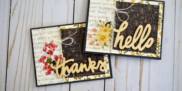Pretty Floral Cards With The Simple Life Collection