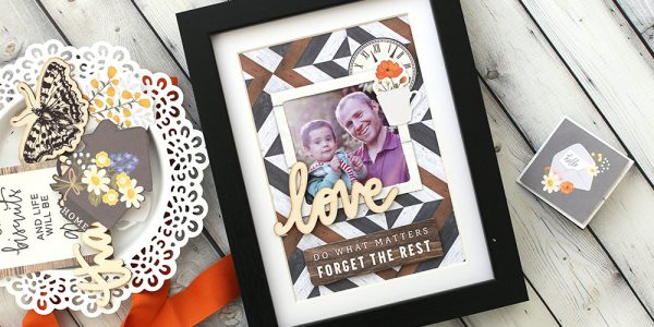 Father's Day Interchangeable Photo Frame