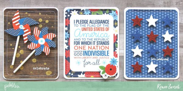 Happy 4th of July Cards in Thirty Minutes