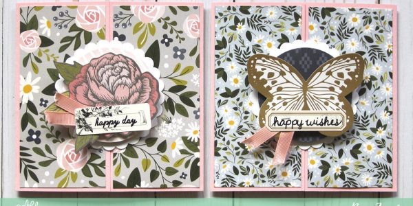 Happy Day, Happy Wishes Gatefold Birthday Cards