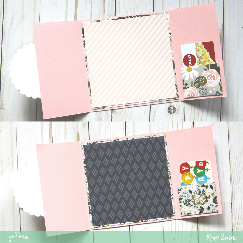 Happy Day, Happy Wishes Gatefold Birthday Cards by @reneezwirek using the #HeartOfHome collection by @pebblesinc and @Tatertots and Jello .com