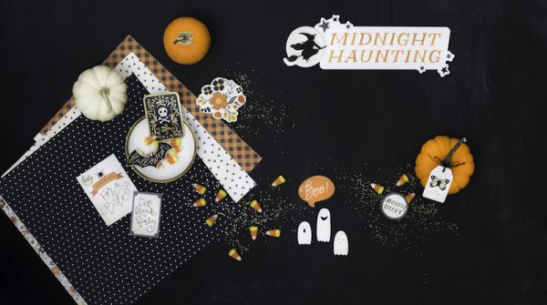 Part of Pebbles Inc's new collections, Midnight Haunting is terrifyingly perfect for any Halloween bash #midnighthaunting #halloween